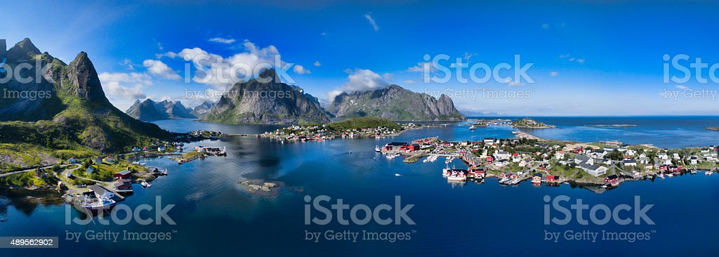 Scenic Norway stock photo