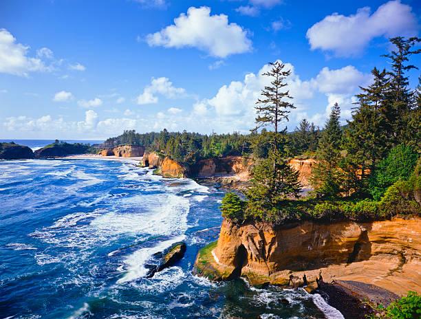Scenic Oregon Coast stock photo