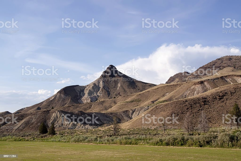 Scenic Oregon hills royalty-free stock photo