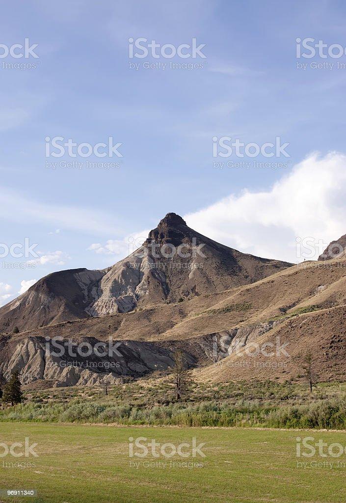 Scenic Oregon hills royalty-free stock photo