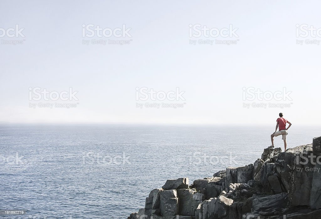 Scenic overlook stock photo