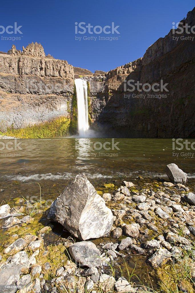 Scenic Palouse falls. stock photo
