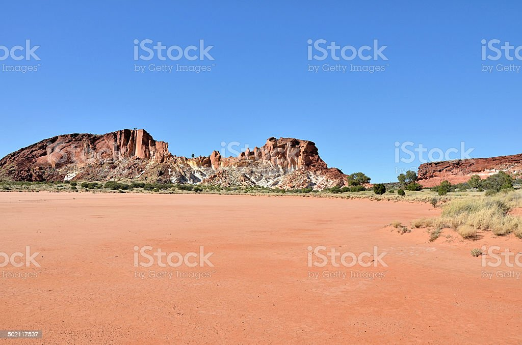 Scenic Rainbow Valley stock photo