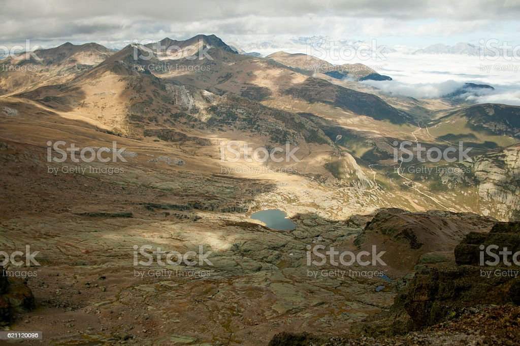 Scenic range landscape stock photo