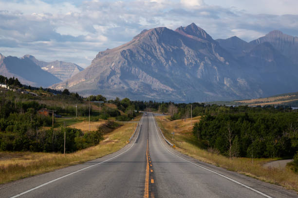 Scenic Road in Montana