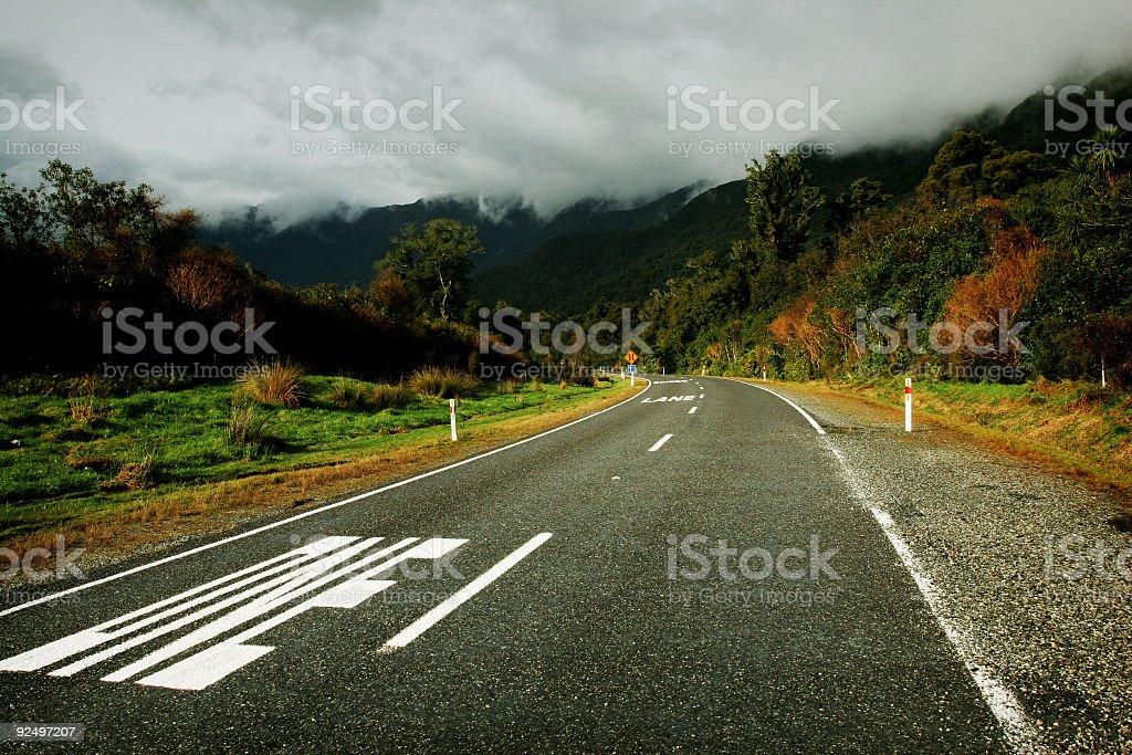 Scenic Road royalty-free stock photo