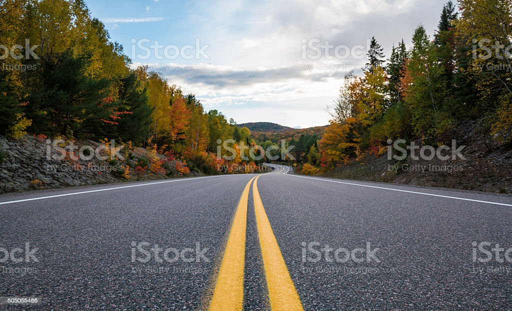 Scenic Roads stock photo
