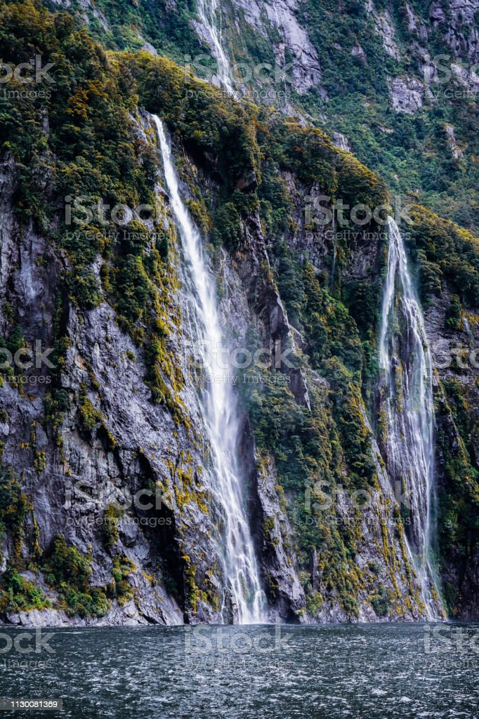 A Scenic Sightseeing Of Great Waterfalls In Milford Sound