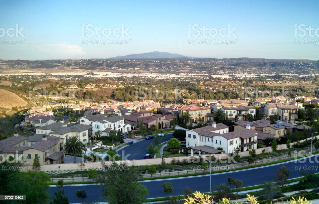 A Scenic SoCal View stock photo