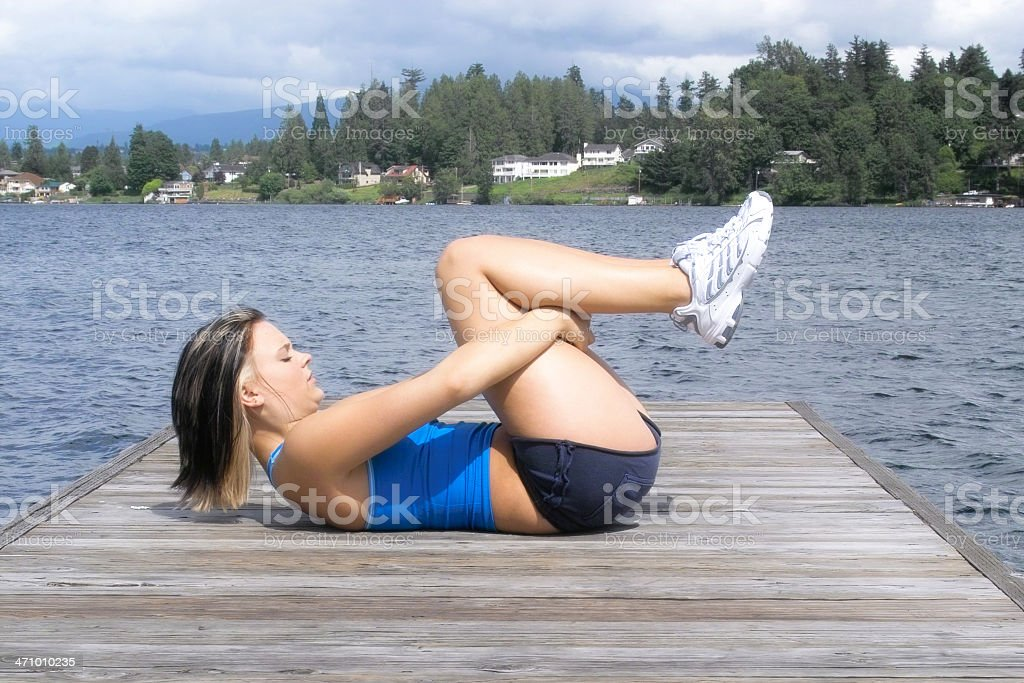 Scenic Stretch royalty-free stock photo