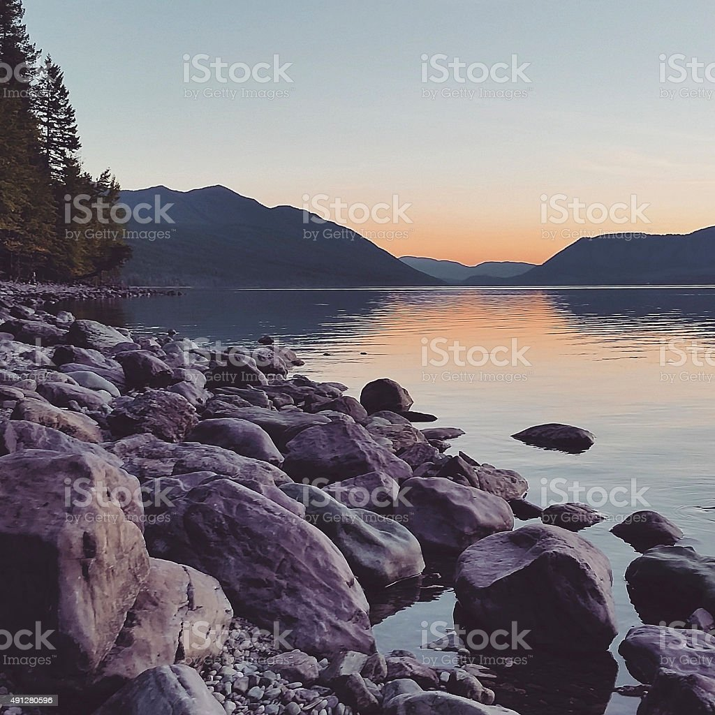 This is a square, color, royalty free stock photograph of a scenic...