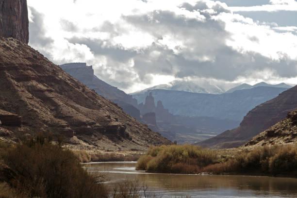 malerische landschaften in utah - own wilson stock-fotos und bilder