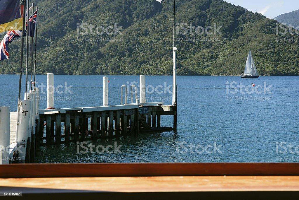 Vista panoramica del resort. foto stock royalty-free