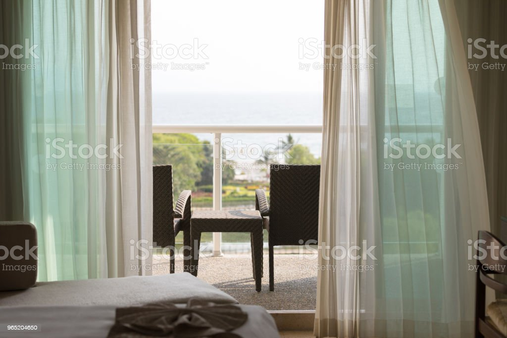 scenic view from the balcony royalty-free stock photo