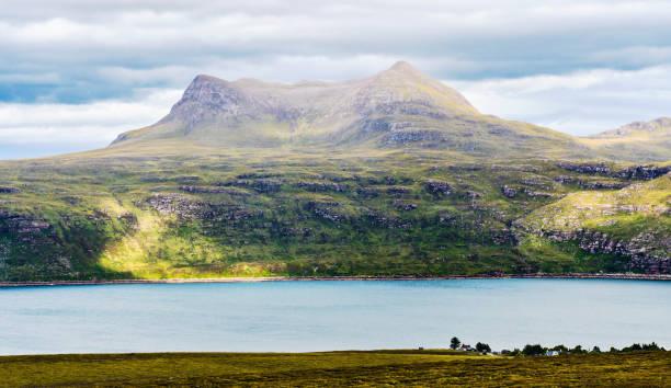 Scenic view in Scotland stock photo