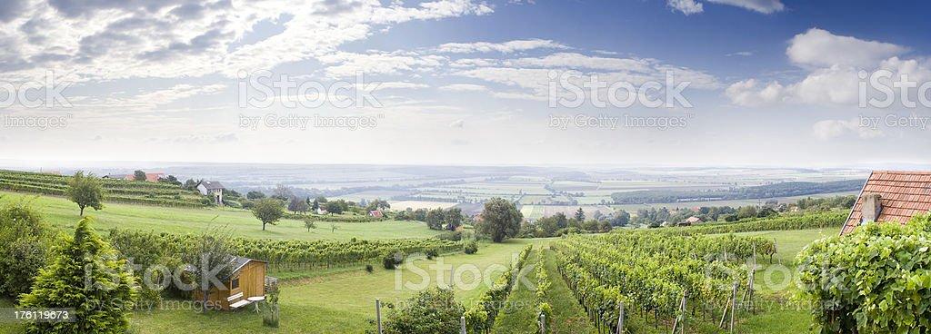 Scenic View of Burgenland stock photo