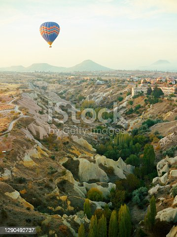 Scenic  view of Cappadocia in Turkey