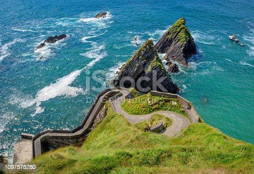 istock Scenic view of Dunquin Harbor, County Kerry, Ireland 1097575280