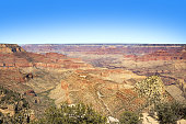 panoramic view of Grand Canyon, South Rim