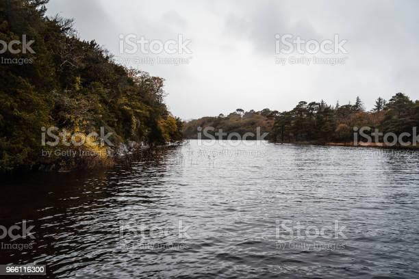 Vacker Utsikt Över Sjön I Killarney En Dimmig Dag-foton och fler bilder på Berg