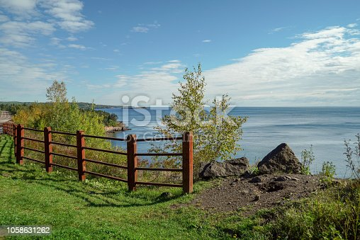 876420064 istock photo Scenic View of Lake Superior from an Overlook in Northern Minnesota 1058631262