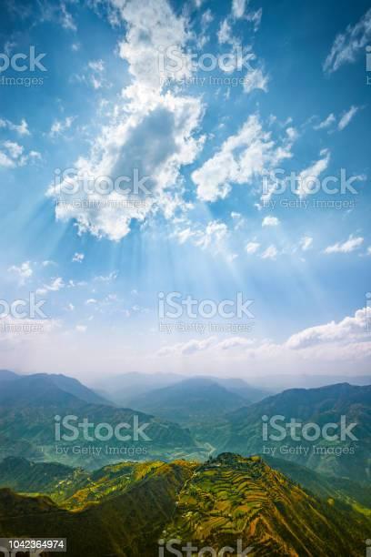 Photo of Scenic view of mountain horizon.