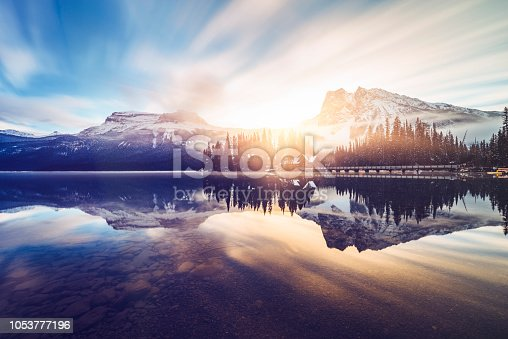 photo taken in Yoho National Park, British Columbia, Canada.