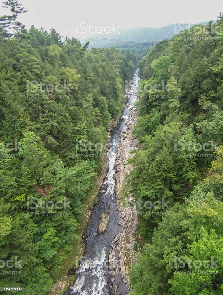 Scenic View of Quechee, VT royalty-free stock photo