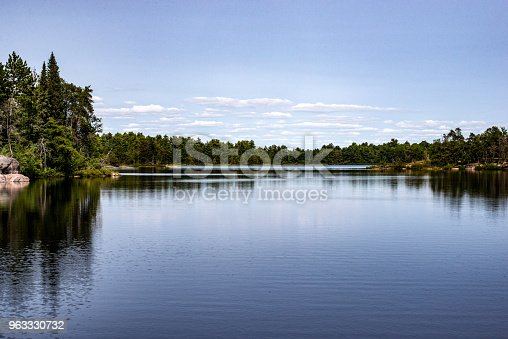 istock Scenic view of the French River, Ontario, Canada 963330732