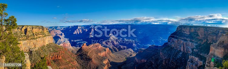 istock Scenic view of the South Rim of the Grand Canyon 1345207709