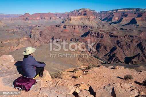 istock Scenic view of the South Rim of the Grand Canyon 1345207827