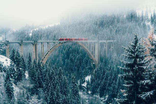 Scenic view of train on viaduct in switzerland picture id898687414?b=1&k=6&m=898687414&s=612x612&w=0&h=jjadtixiqop11nk fefczbnylqyo3atpwd8shyux8eo=