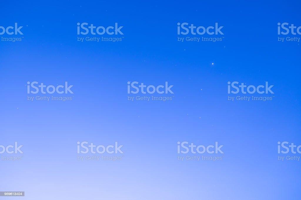 Vistas panorámicas del cielo estrellado, Fondo de la naturaleza - Foto de stock de Azul libre de derechos