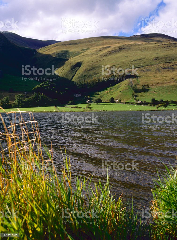 Scenic Wales - Tal-y-llyn royalty-free stock photo