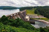 Scenics of Norris Dam in Tennessee