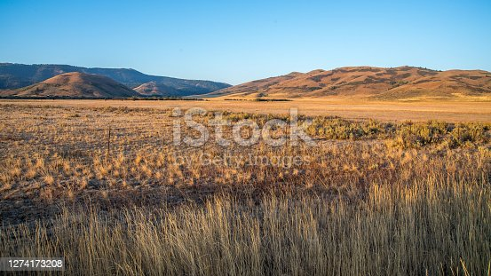 Scenics of the mountains and prairie of southern Idaho