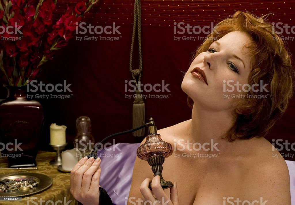 Scent of a woman royalty-free stock photo