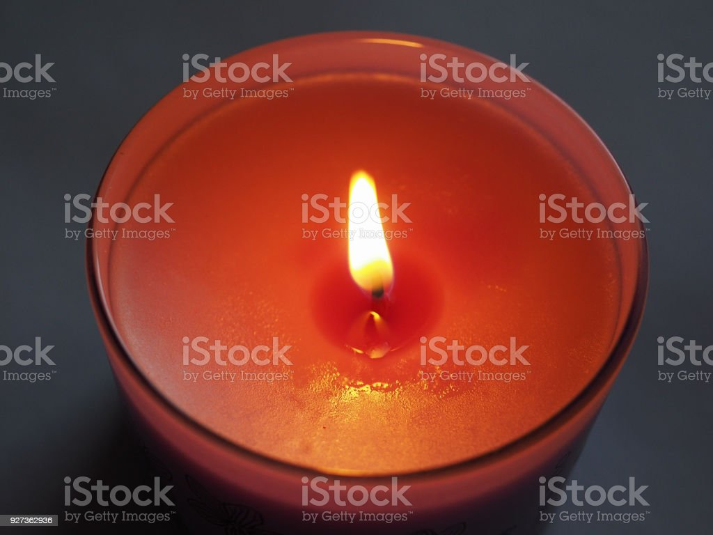 scented candle flame - Royalty-free Burning Stock Photo