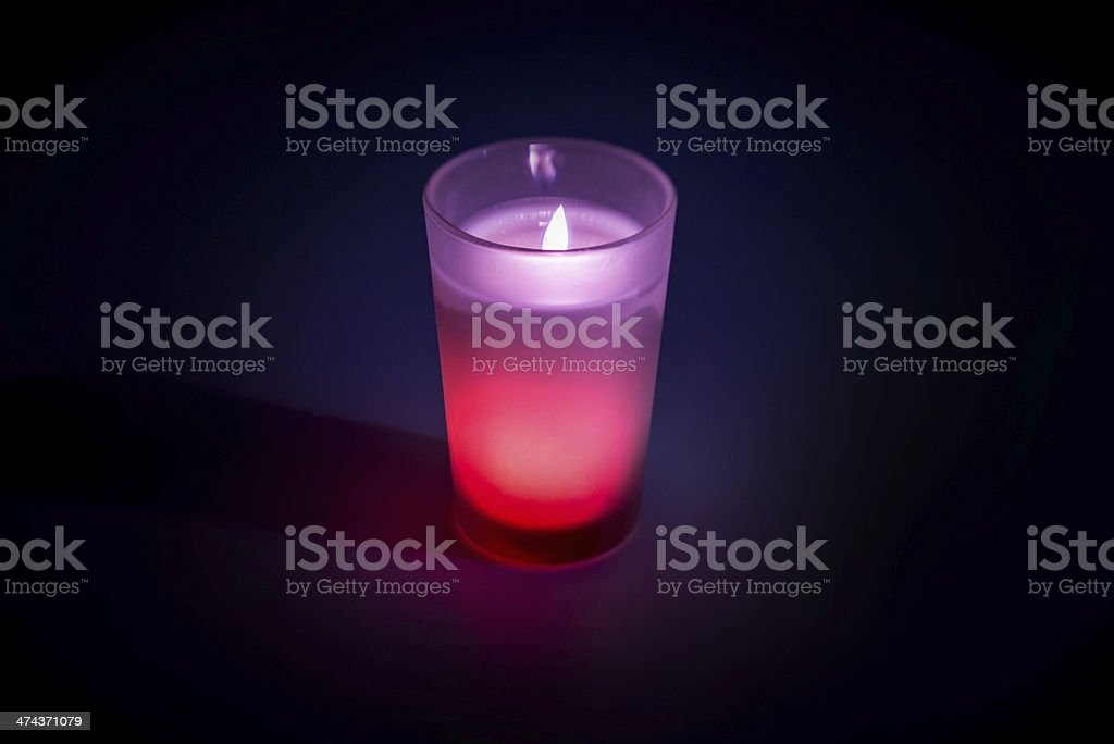 Scented Candle royalty-free stock photo