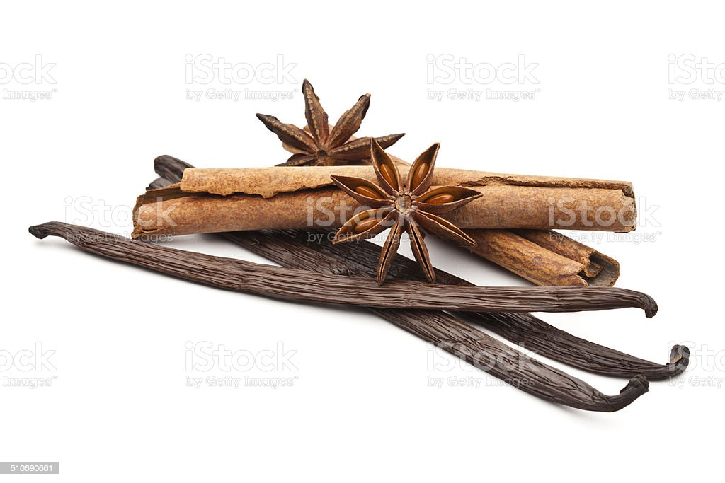 Scented Spices stock photo