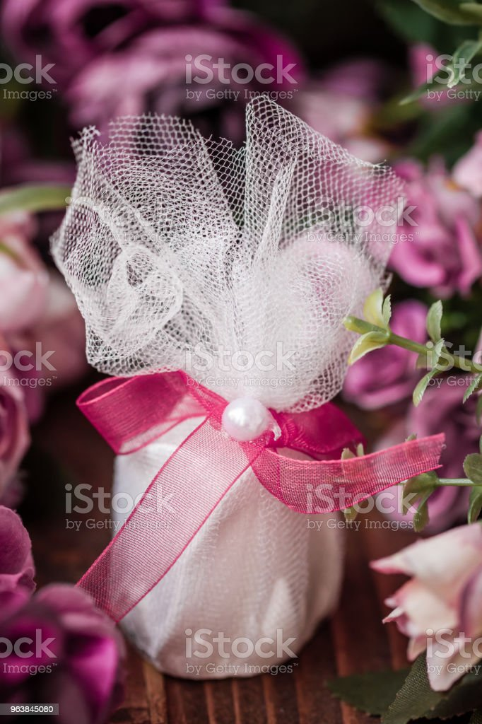 Scented Stone as a Gift for Baby Shower - Royalty-free Anniversary Stock Photo