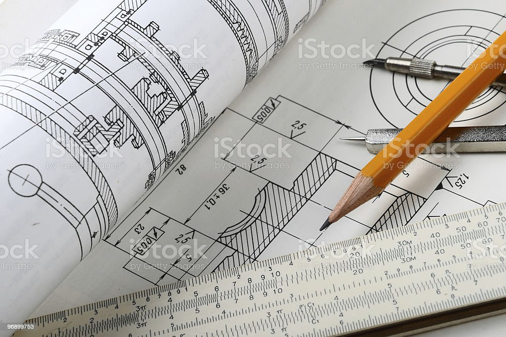 Scetch royalty-free stock photo
