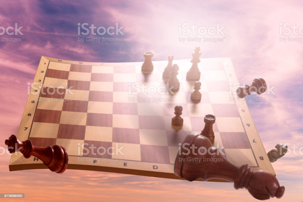 Schach stock photo