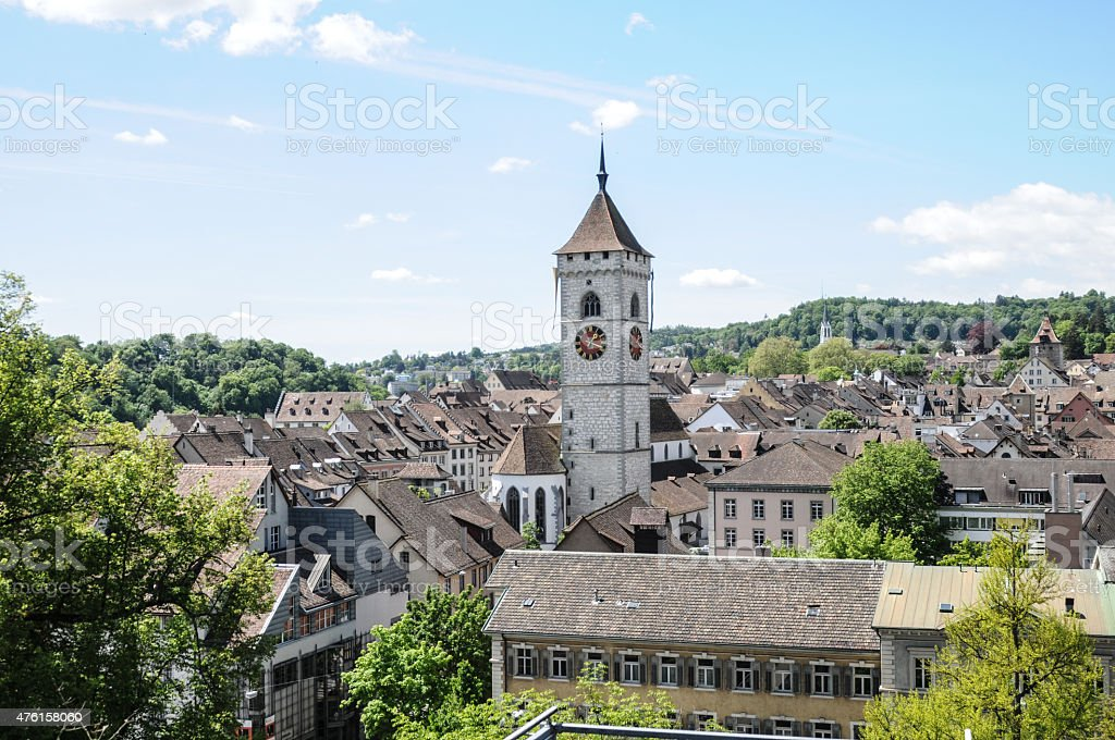 Schaffhausen - City stock photo