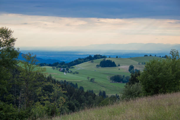 Schauinsland bei Freiburg stock photo