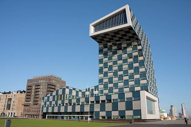 Scheepvaartcollege Gebäude Rotterdam – Foto