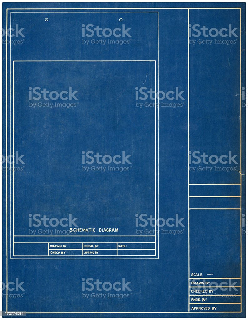Blank blueprint diagram introduction to electrical wiring diagrams royalty free blueprint blank pictures images and stock photos istock rh istockphoto com blueprint paper template malvernweather Image collections