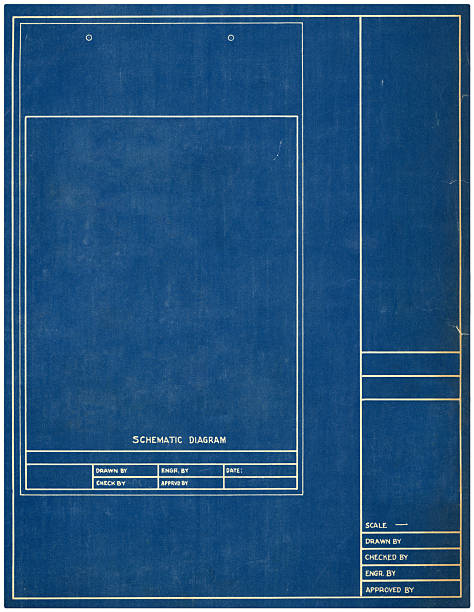 schematic stock photo