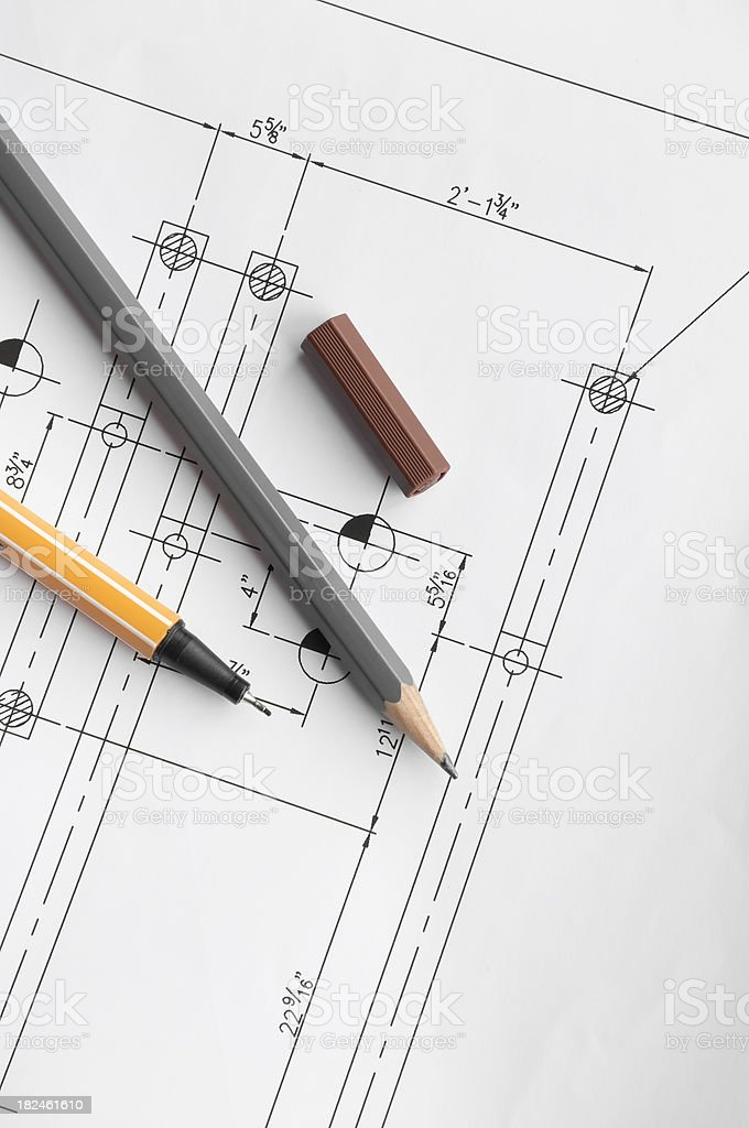 Schematic royalty-free stock photo