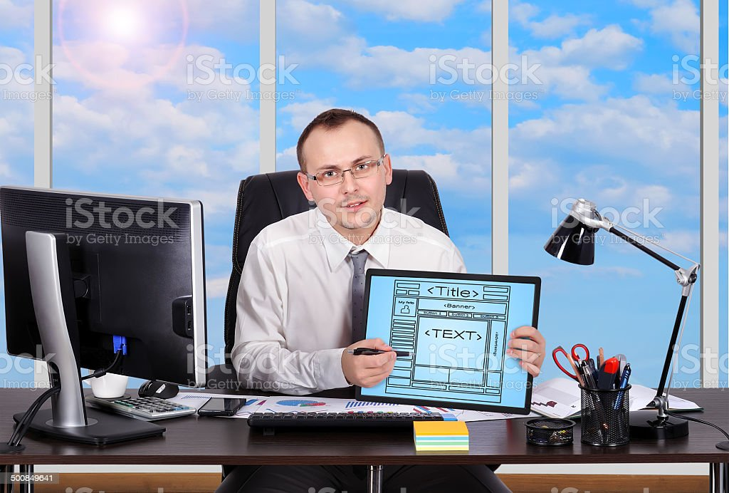 scheme website royalty-free stock photo